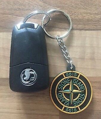 100% Brand New Stone Island Jumper Badge Original Rare Pvc 90's Casuals Keyring