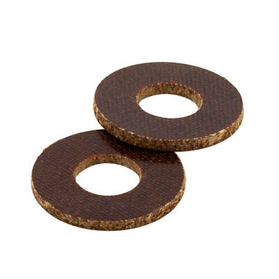 "Lot of 100 Brown Phenolic Coil Washers for 5/16"" Core Tattoo Machine Parts"