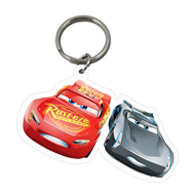 Cars 3 Lightning McQueen & Jackson Storm Keyring New Official Licensed Product