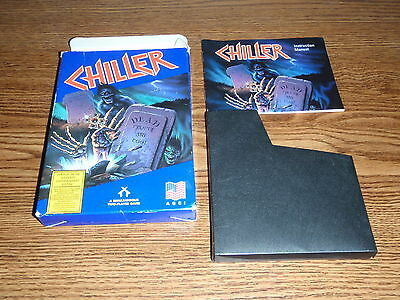 Chiller Nes Nintendo Box And Manual Only No Game