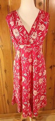 Old Navy Maternity Dress Pink Floral S