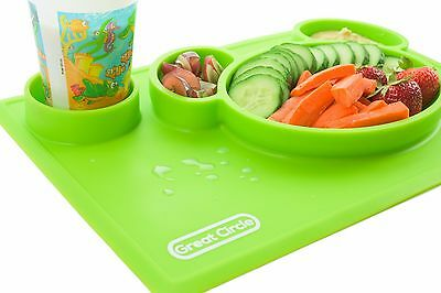 Silicon placemat for kids
