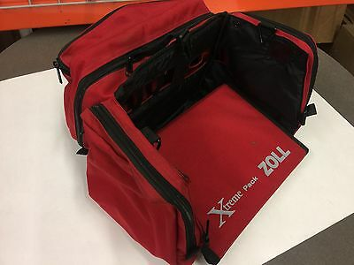 ZOLL M SERIES SOFT CARRYING CASE RED (With IBP)