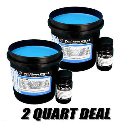 CCI ProChem WR-14 emulsion for plastisol and water-base ink 2 Qts. Free Shipping