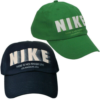 Boys, Girls Nike Classic Rubber Logo Baseball Cap Youth Sports Sun Summer Hat
