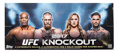 2017 Topps Ufc Knockout Trading Cards Hobby Sealed Box
