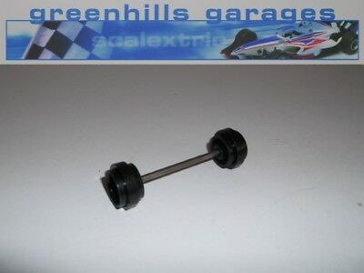 Greenhills Scalextric Jaguar XJ8 Front Axle and Wheels C443 Used P2096