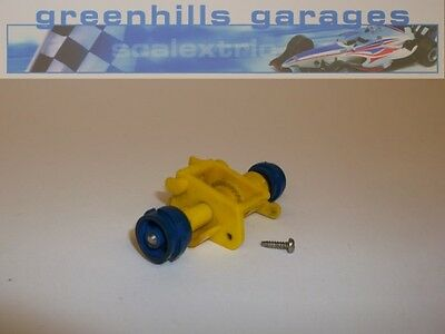 Greenhills Scalextric You Steer Rear Axle Assembly, Screw & Wheels – Used P733