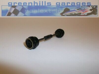 Greenhills Scalextric JPS Lotus C126 Front Axle & Wheels – Used P768