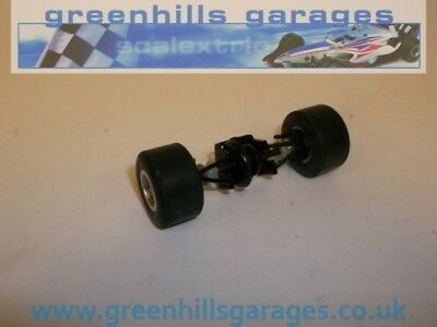 Greenhills Scalextric Dallara IRL Rear axle/ tyres/ wishbones P1179 Used