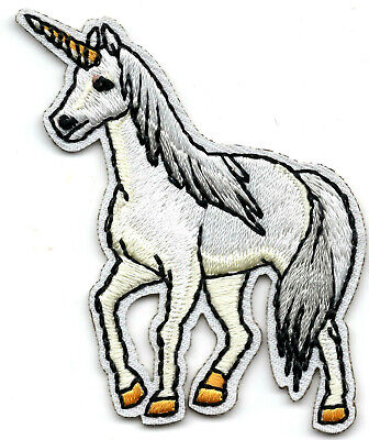 6250f3c39 UNICORN - LEGENDARY ANIMAL - FANTASY - Iron On Embroidered Applique Patch