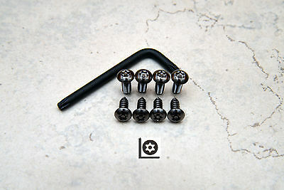 Anti-Theft Security Screws for DODGE CHARGER FRONT /& REAR License Plate