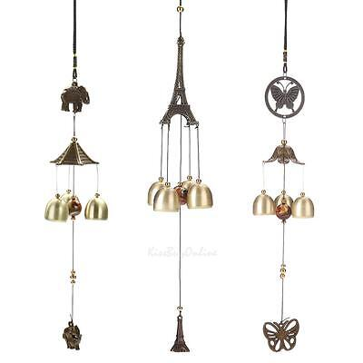 Ring Wind Chime Bells Outdoor Garden Church Resonant Hanging Ornament Decor