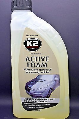 ACTIVE SNOW FOAM Cleaning CAR VAN etc HIGH QUALITY Concentrated  NEW Wash 1L