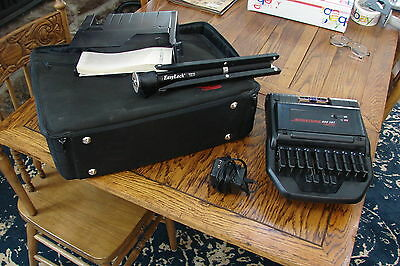 Stentura 400 SRT Electric Stenograph Court Reporting Machine + Extras