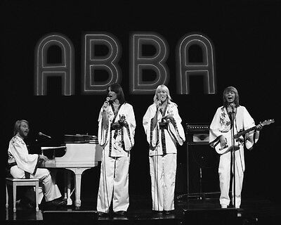 1970s Swedish Pop Band ABBA Glossy 8x10 Photo Music Memorabilia Print Poster