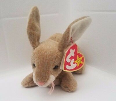 RARE Nibbly TY Beanie Baby TAG ERRORS: Gasport, 1998 1999 - Original Owner