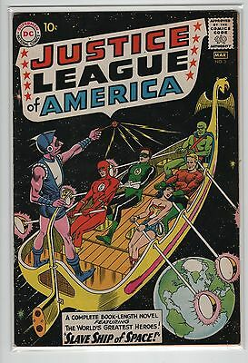 Justice League of America #3  FN 6.0  (DC 1961)  Nice & Bright  OW/W