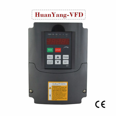 3Kw 4Hp 13A 110V  Variable Frequency Drive Vfd Inverter Hy For Cnc Speed Control