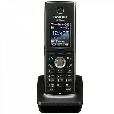 Panasonic KX-TPA60 SIP DECT VoIP Addtional Cordless Phone FOR KX-TGP600 - NEW