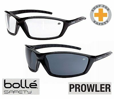 BOLLE Prowler Safety Specs * Medium Impact Genuine item Safety Glasses