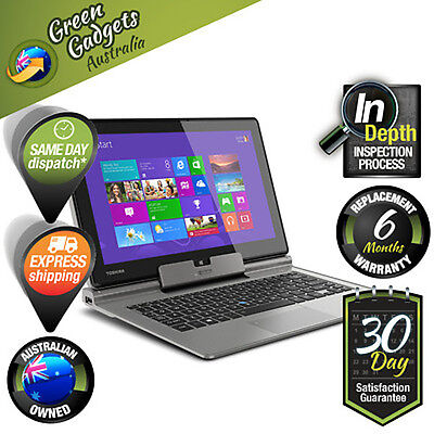 """Toshiba Portege Z10t 11.6"""" Grey 2-in-1 Ultrabook Core i5 FHD Excellent Condition"""