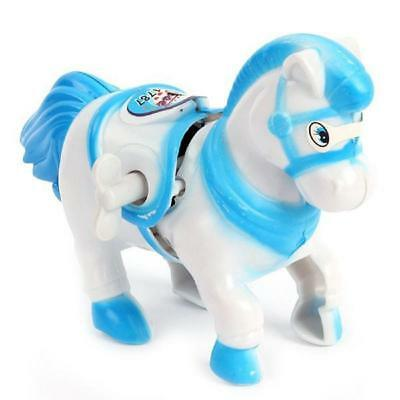 Wind UP Plastic Running Horse Mechanical Clockwork Windup Toys Collectibles