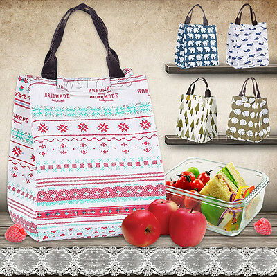 Thermal Portable Insulated Cooler Bag Lunch Picnic Carry Tote Storage
