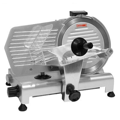 "Commercial Meat Slicer 8"" Blade 280W Meat Cheese Food Slicer Industrial Quality"