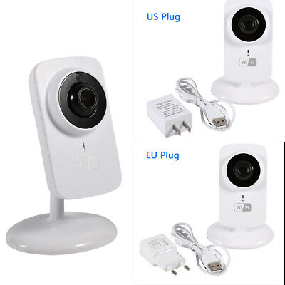 Wireless HD 720P Wifi Security Infant Baby Monitor Camera Video Night Vision