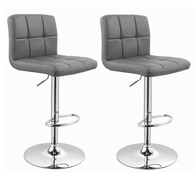 !2er Set! Barhocker in GRAU / GREY , Barstuhl Tabouret de Bar Stool +295+