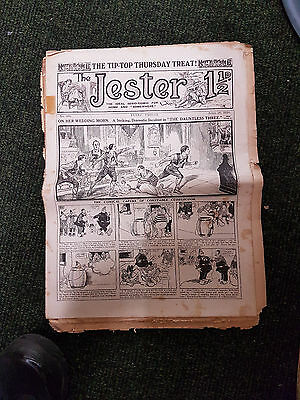 JESTER COMIC 3x issues from 1913-1918