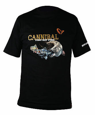 SAVAGE GEAR Cannibal T-Shirt size selectable Angelshirt