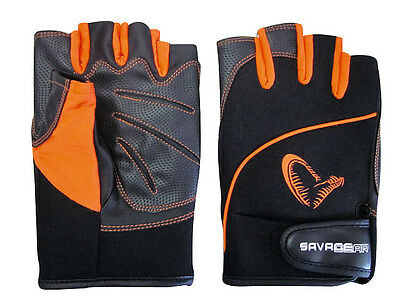 SAVAGE GEAR Protec Gloves size selectable Neoprene Gloves