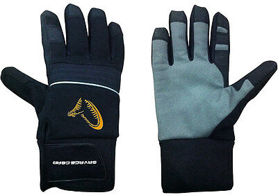SAVAGE GEAR Winter Thermal Glove size selectable Fishing Neoprene Gloves