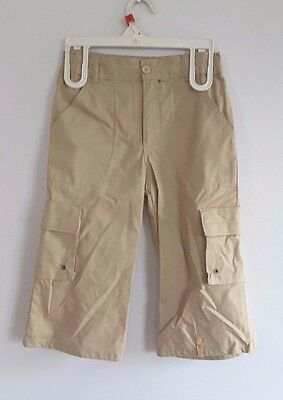 Lovely Beige Cargo Style Cotton Trousers from Girandola - Age 8 years - BNWT!