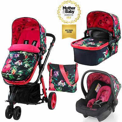 New Cosatto Giggle 2, 3 in 1 Travel System with Hold Car Seat - Tropico