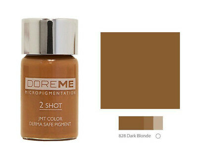 SPMU Microblading Pigment Doreme 2 Shot Concentrate Ink DARK BLONDE 828