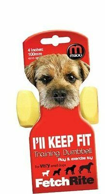 Mikki 'I'll Keep Fit' Small Plastic Dumbbell - Accessories - Dog - Training