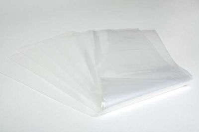 """10 x Strong Heavy Duty Clear Plastic Rubble Bags - 16"""" x 32"""" – 400 guage"""