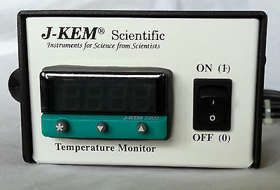 J-KEM Scientific Model DM120 Temperature Monitor (optional thermocouple probe)