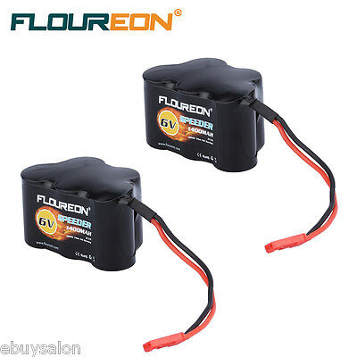 6V 1400mAh Ni-MH JXT-SYP Plug Battery Hump Pack for RC Cars Helicopter Airplane