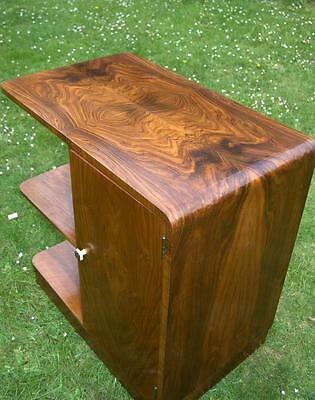 Art Deco Walnut Cabinet with Shelves by Kostick (Various Pick Up Points)