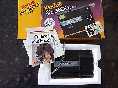 Kodak Disc 3600 Camera -  Boxed (including half used film) Not Tested