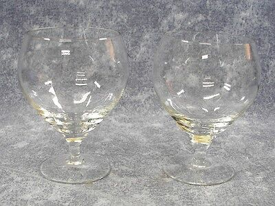 2 Rosenthal Studio Linie Lotus Plain Low Sherbet Crystal Glasses ~ Excellent