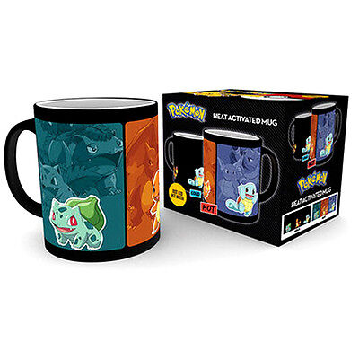 Official Licensed Product Pokemon Heat Changing Mug First Generation Cup Fan New
