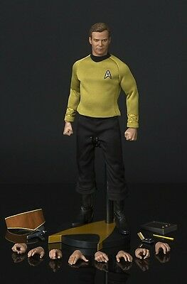 Captain Kirk QMx Master Series 1/6 Collectible Figure 2016 Star Trek TOS NEW