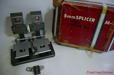 M-1 Splicer for Super 8 and Standard 8mm Cine Film - Editor