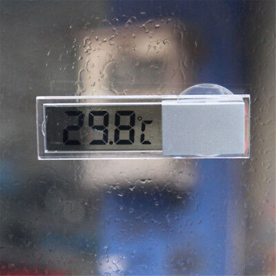 Home Car LCD Digital Display Room Temperature Meter Thermometer Indoor Outdoor