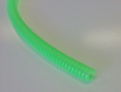 "hotwires Split loom colored wire covering Neon green for auto & rod 1/4"" x20'"